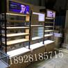 木纹免漆板眼镜柜台四川成都立式陈列柜中岛精品太阳镜货架
