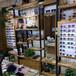 優質鎮江鐵藝烤漆中島柜實木紋免漆眼鏡展柜陳列柜貨架柜整店定制