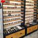 海珠區快時尚鋼木結合眼鏡展示柜定制廠家