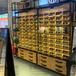 生態板眼鏡展示柜杭州免漆板展示柜品牌貨架余杭區陳列柜高柜定制