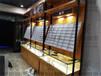 新城子區近視眼鏡柜臺玻璃矮柜快時尚精品鋼木結合眼鏡柜批發廠家