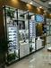 廣東廣州白云區多格子眼鏡陳列架烤漆眼鏡展示臺雙面中島價格