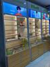 开放式眼镜柜珠海香洲定制玻璃层板高柜双面中岛矮柜厂家
