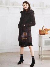 宝莱国际品牌羽绒服时尚大码女装批发工厂直销淘宝直播货源图片