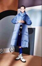 摩多伽格品牌羽绒服时尚大码女装欧美潮牌风格批发武汉服装批发网图片