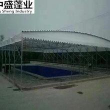 活动伸缩遮阳棚户外移动挡雨棚伸缩式帐篷