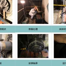 索雷碳纳米聚合物材料快速修复风机轴颈磨损