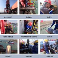 卸船机轴颈磨损竟然用索雷碳纳米聚合物材料修