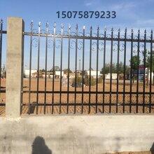 唐山栅栏式围墙厂家供应别墅护栏围栏铁艺护栏一米价格
