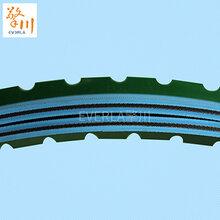广州片基带定制浅蓝色糊盒机带擎川EVERLA图片