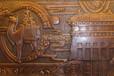 黃岡景區人物銅藝浮雕-麻城別墅背景墻銅浮雕-武穴鍛銅浮雕