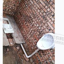 干湿分离旱厕蹲便器免水冲无害化厕所粪尿分集式便器图片