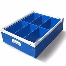 塑料中空板周转箱蜂窝板围板箱防静电系列图片