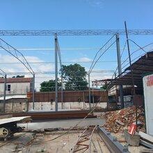 佛山星瓦棚搭建,佛山钢结构施工队,钢结构设计及制作安装图片