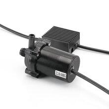 汽车冷启动加热泵无刷汽车水泵直流微型水泵24V