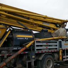中聯混凝土輸送泵_二手中聯混凝土輸送泵轉讓圖片