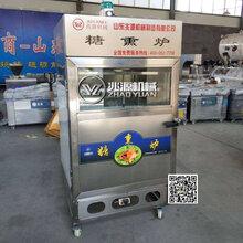 豆腐干煙熏機自貢100型豆干煙熏爐山東產煙熏機濰坊食品機械廠家圖片