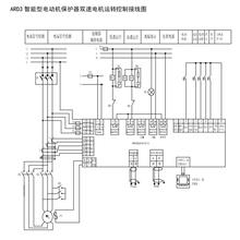 安科瑞电机保护器气泵电动机启动器_智能电动机保护器价格图片
