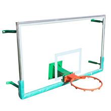 新疆供应钢化篮板图片