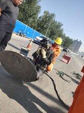 唐山曹妃甸污水池清理淤泥,市政管道封堵抽水,管道清洗检测