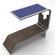 太阳能休闲椅