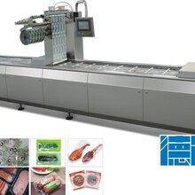 全自动拉伸膜包装机多功能真空包装机休闲零食包装设备图片