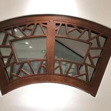 88系列鋁包木門窗以及系統窗65-120系列系統門窗廠家制作圖片