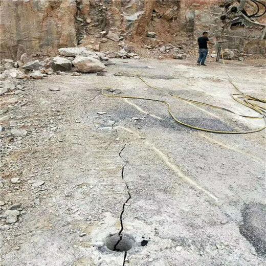 静态拆除石块静态劈裂机,岩石分裂机