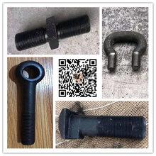 彩盛紧固件厂家供应8.8级10.9级12.9级高强度螺栓螺母地脚双头U型丝丝杠