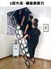 专业生产伸缩楼梯、折叠家用楼梯、电动阁楼楼梯厂家