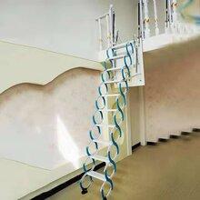 安徽伸缩楼梯、阁楼楼梯、电动折叠梯、隐形伸缩梯厂图片