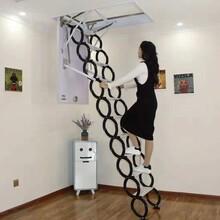 吐鲁番地区电动伸缩楼梯多少钱图片
