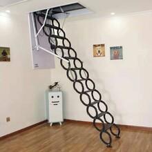 长治电动伸缩楼梯生产厂家图片