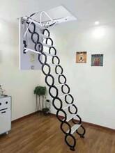 白山阁楼伸缩楼梯多少钱图片