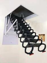 武威电动阁楼伸缩楼梯买一送一图片