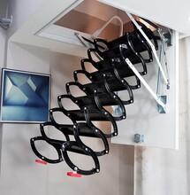 洛南县伸缩式楼梯直销最低价图片