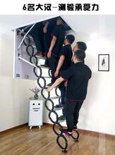 茂名市电动折叠隐形楼梯安装一条龙服务图片