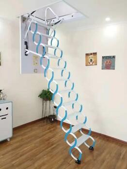 聊城市电动折叠隐形楼梯打造一线品牌