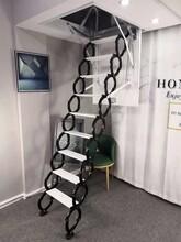 内江室外伸缩楼梯送货到家图片