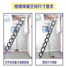 九江市阁楼隐形楼梯高品质高质量图片