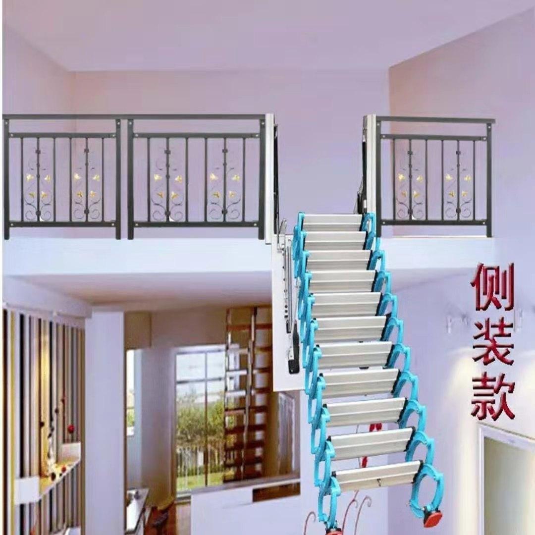 青岛市室内伸缩楼梯厂家报价单