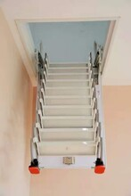 銀川市閣樓伸縮樓梯生產廠家電話圖片