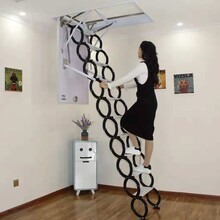 海北州全自动阁楼楼梯提供安装服务图片