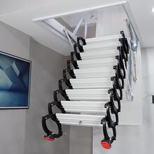 永州市室内伸缩楼梯提供安装服务图片