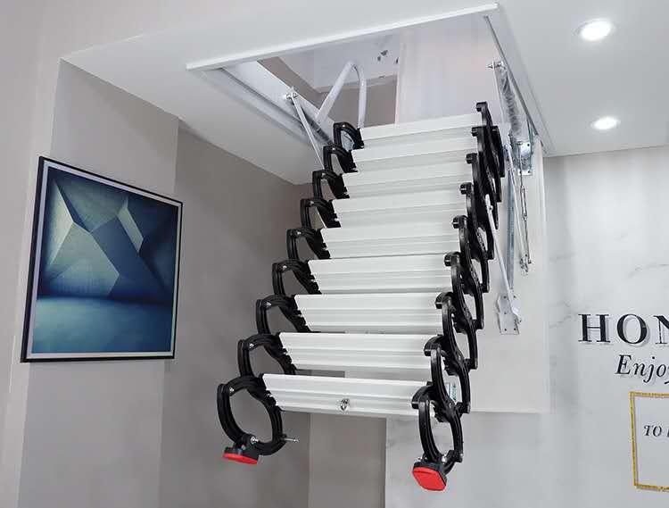 永州市室内伸缩楼梯提供安装服务
