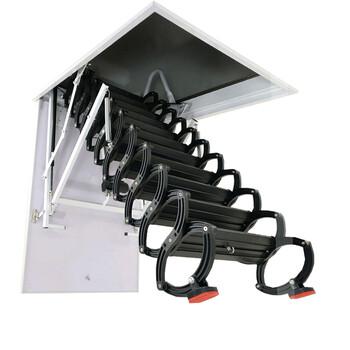 红旗区全自动升降楼梯开孔尺寸