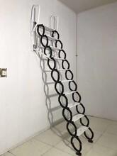 慶陽半自動伸縮樓梯閣樓伸縮樓梯加工廠圖片