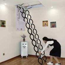 清徐室內伸縮樓梯家用伸縮樓梯廠家圖片