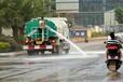 東風灑水車運水,麗水傳統灑水車馬路沖洗工地降塵質量可靠