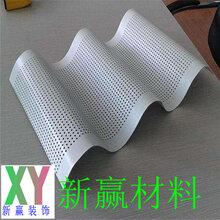 穿孔铝单板造型冲天才孔铝单板事生产工艺次�w序图片